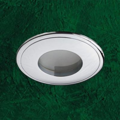 Novotech AQUA 369303 Встраиваемый светильникВлагозащищенные<br>Встраиваемый неповоротный светильник модели Novotech 369303 из серии AQUA отличается следующим качеством: Влагозащищённый светильник. Светильник сделан из  алюминиевого литья. Это сплав, основными  достоинствами которого являются — устойчивость к практически всем видам негативного воздействия окружающей среды, коррозии, небольшой вес, по сравнению с другими видами металла и   экологическая безопасность материала.<br><br>S освещ. до, м2: 3<br>Тип товара: Встраиваемый светильник<br>Тип лампы: галогенная<br>Тип цоколя: GU5.3 (MR16)<br>Количество ламп: 1<br>MAX мощность ламп, Вт: 50<br>Диаметр, мм мм: 85<br>Диаметр врезного отверстия, мм: 74<br>Высота, мм: 82<br>Цвет арматуры: серебристый