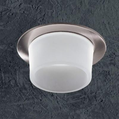 Светильник Novotech 369332 никель RainbowКруглые<br>Светильники для низковольтных галогенных ламп. Материал: алюминевое литье/стекло. Лампы в комплект не входятНапряжение: - 12V или 220V. IP 20<br><br>S освещ. до, м2: 3<br>Тип товара: Встраиваемый светильник<br>Тип лампы: галогенная<br>Тип цоколя: GU5.3 (MR16)<br>Количество ламп: 1<br>MAX мощность ламп, Вт: 50<br>Диаметр, мм мм: 80<br>Диаметр врезного отверстия, мм: 65<br>Высота, мм: 89<br>Оттенок (цвет): белый<br>Цвет арматуры: серебристый