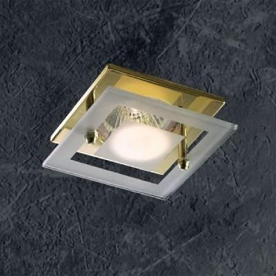 Novotech WINDOW 369345 Встраиваемый светильникКвадратные<br>Декоративный встраиваемый неповоротный светильник модели Novotech 369345 из серии WINDOW отличается следующим качеством: Светильник сделан из алюминиевого литья. Это сплав, основными  достоинствами которого являются — устойчивость к практически всем видам негативного воздействия окружающей среды, коррозии, небольшой вес, по сравнению с другими видами металла и   экологическая безопасность материала. Декоративный  плафон произведен из стекла. Стекло экологично,  не тускнеет и не меняет своего оттенка со временем, не покрывается некрасивым налетом и легко выдерживает перепады температур.<br><br>S освещ. до, м2: 3<br>Тип лампы: галогенная<br>Тип цоколя: GU5.3 (MR16)<br>Количество ламп: 1<br>Ширина, мм: 75<br>MAX мощность ламп, Вт: 50<br>Диаметр врезного отверстия, мм: 60<br>Длина, мм: 75<br>Высота, мм: 53<br>Цвет арматуры: Золотой