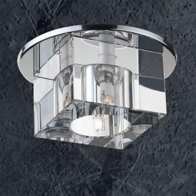 Novotech CUBIC 369381 Встраиваемый светильникКвадратные<br>Встраиваемые светильники – популярное осветительное оборудование, которое можно использовать в качестве основного источника или в дополнение к люстре. Они позволяют создать нужную атмосферу атмосферу и привнести в интерьер уют и комфорт.   Интернет-магазин «Светодом» предлагает стильный встраиваемый светильник Novotech 369381. Данная модель достаточно универсальна, поэтому подойдет практически под любой интерьер. Перед покупкой не забудьте ознакомиться с техническими параметрами, чтобы узнать тип цоколя, площадь освещения и другие важные характеристики.   Приобрести встраиваемый светильник Novotech 369381 в нашем онлайн-магазине Вы можете либо с помощью «Корзины», либо по контактным номерам. Мы развозим заказы по Москве, Екатеринбургу и остальным российским городам.<br><br>S освещ. до, м2: 3<br>Тип лампы: галогенная<br>Тип цоколя: GX6.35<br>Количество ламп: 1<br>MAX мощность ламп, Вт: 50<br>Диаметр, мм мм: 110<br>Диаметр врезного отверстия, мм: 80<br>Высота, мм: 87<br>Оттенок (цвет): прозрачный<br>Цвет арматуры: серебристый