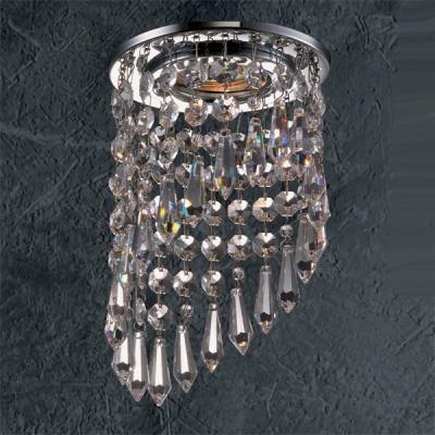 Светильник Novotech 369399 хром CrystalsХрустальные<br><br><br>S освещ. до, м2: 3<br>Тип товара: Встраиваемый светильник<br>Тип лампы: галогенная<br>Тип цоколя: GU5.3 (MR16)<br>Количество ламп: 1<br>MAX мощность ламп, Вт: 50<br>Диаметр, мм мм: 120<br>Диаметр врезного отверстия, мм: 55<br>Высота, мм: 225<br>Оттенок (цвет): прозрачный<br>Цвет арматуры: серебристый
