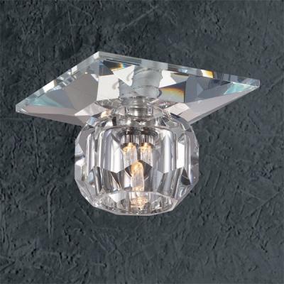 Novotech CRYSTAL 369424 Встраиваемый светильникКвадратные<br>Встраиваемые светильники – популярное осветительное оборудование, которое можно использовать в качестве основного источника или в дополнение к люстре. Они позволяют создать нужную атмосферу атмосферу и привнести в интерьер уют и комфорт.   Интернет-магазин «Светодом» предлагает стильный встраиваемый светильник Novotech 369424. Данная модель достаточно универсальна, поэтому подойдет практически под любой интерьер. Перед покупкой не забудьте ознакомиться с техническими параметрами, чтобы узнать тип цоколя, площадь освещения и другие важные характеристики.   Приобрести встраиваемый светильник Novotech 369424 в нашем онлайн-магазине Вы можете либо с помощью «Корзины», либо по контактным номерам. Мы развозим заказы по Москве, Екатеринбургу и остальным российским городам.<br><br>S освещ. до, м2: 2<br>Тип лампы: галогенная<br>Тип цоколя: G4<br>Количество ламп: 1<br>MAX мощность ламп, Вт: 20<br>Диаметр, мм мм: 70<br>Диаметр врезного отверстия, мм: 58<br>Высота, мм: 75<br>Цвет арматуры: серебристый