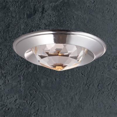 Светильник Novotech 369427 хром CrystalsКруглые<br><br><br>S освещ. до, м2: 3<br>Тип товара: Встраиваемый светильник<br>Тип лампы: галогенная<br>Тип цоколя: GU5.3 (MR16)<br>Количество ламп: 1<br>MAX мощность ламп, Вт: 50<br>Диаметр, мм мм: 80<br>Диаметр врезного отверстия, мм: 65<br>Высота, мм: 40<br>Цвет арматуры: серебристый