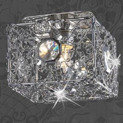 Светильник Novotech 369454 хром LaceХрустальные<br><br><br>S освещ. до, м2: 2<br>Тип товара: Встраиваемый светильник<br>Тип лампы: галогенная<br>Тип цоколя: G9<br>MAX мощность ламп, Вт: 40<br>Диаметр, мм мм: 88<br>Диаметр врезного отверстия, мм: 60<br>Высота, мм: 90<br>Оттенок (цвет): прозрачный<br>Цвет арматуры: серебристый