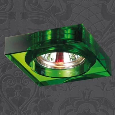 Novotech GLASS 369486 Встраиваемый светильникКвадратные<br>Встраиваемые светильники – популярное осветительное оборудование, которое можно использовать в качестве основного источника или в дополнение к люстре. Они позволяют создать нужную атмосферу атмосферу и привнести в интерьер уют и комфорт.   Интернет-магазин «Светодом» предлагает стильный встраиваемый светильник Novotech 369486. Данная модель достаточно универсальна, поэтому подойдет практически под любой интерьер. Перед покупкой не забудьте ознакомиться с техническими параметрами, чтобы узнать тип цоколя, площадь освещения и другие важные характеристики.   Приобрести встраиваемый светильник Novotech 369486 в нашем онлайн-магазине Вы можете либо с помощью «Корзины», либо по контактным номерам. Мы развозим заказы по Москве, Екатеринбургу и остальным российским городам.<br><br>S освещ. до, м2: 2<br>Тип лампы: галогенная<br>Тип цоколя: GU5.3 (MR16)<br>Ширина, мм: 85<br>MAX мощность ламп, Вт: 50<br>Диаметр врезного отверстия, мм: 65<br>Длина, мм: 85<br>Высота, мм: 35<br>Цвет арматуры: зеленый