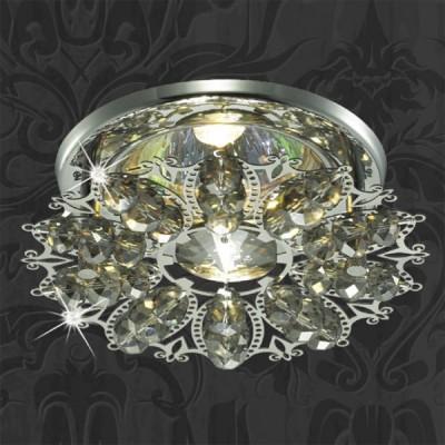 Светильник Novotech 369498 хром AuroraХрустальные<br><br><br>S освещ. до, м2: 3<br>Тип товара: Встраиваемый светильник<br>Тип лампы: галогенная<br>Тип цоколя: GU5.3 (MR16)<br>Количество ламп: 1<br>MAX мощность ламп, Вт: 50<br>Диаметр, мм мм: 105<br>Диаметр врезного отверстия, мм: 60<br>Высота, мм: 65<br>Оттенок (цвет): под дерево<br>Цвет арматуры: серебристый