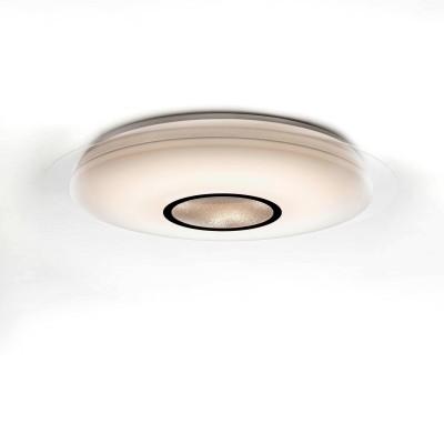 Потолочный светильник Mantra 3694 DIAMANTEСветодиодные<br>Компания «Светодом» предлагает широкий ассортимент люстр от известных производителей. Представленные в нашем каталоге товары выполнены из современных материалов и обладают отличным качеством. Благодаря широкому ассортименту Вы сможете найти у нас люстру под любой интерьер. Мы предлагаем как классические варианты, так и современные модели, отличающиеся лаконичностью и простотой форм.  Стильная люстра Mantra 3694 станет украшением любого дома. Эта модель от известного производителя не оставит равнодушным ценителей красивых и оригинальных предметов интерьера. Люстра Mantra 3694 обеспечит равномерное распределение света по всей комнате. При выборе обратите внимание на характеристики, позволяющие приобрести наиболее подходящую модель. Купить понравившуюся люстру по доступной цене Вы можете в интернет-магазине «Светодом».<br><br>Установка на натяжной потолок: Да<br>S освещ. до, м2: 16<br>Цветовая t, К: 3000 - 6500<br>Тип лампы: LED<br>Тип цоколя: LED<br>Цвет арматуры: белый<br>Количество ламп: 1<br>Диаметр, мм мм: 585<br>Высота, мм: 97<br>MAX мощность ламп, Вт: 40
