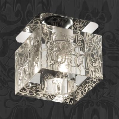 Novotech CUBIC 369514 Встраиваемый светильникКвадратные<br>Декоративный встраиваемый неповоротный светильник модели Novotech 369514 из серии CUBIC отличается следующим качеством: Основание светильника сделано из металла. Это популярный и востребованный материал благодаря ряду качеств. К ним относится: повышенная прочность, износостойкость и долговечность. Декоративный плафон произведен из хрусталя. Он обладает высоким показателем плотности, прозрачности и блеска. Благодаря содержанию свинца (не менее 30%) и определённому подбору углов, образуемых гранями, изделия из хрусталя отличаются необыкновенно яркой, многоцветной игрой света, чарующей магией красоты, совершенства и роскоши.<br><br>S освещ. до, м2: 2<br>Тип лампы: галогенная<br>Тип цоколя: G9<br>Количество ламп: 1<br>MAX мощность ламп, Вт: 40<br>Диаметр, мм мм: 70<br>Диаметр врезного отверстия, мм: 55<br>Высота, мм: 90<br>Оттенок (цвет): прозрачный<br>Цвет арматуры: серебристый