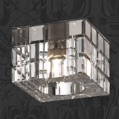 Светильник Novotech 369540 хром CubicКвадратные<br><br><br>S освещ. до, м2: 2<br>Тип товара: Встраиваемый светильник<br>Тип лампы: галогенная<br>Тип цоколя: G9<br>Количество ламп: 1<br>Ширина, мм: 70<br>MAX мощность ламп, Вт: 40<br>Диаметр врезного отверстия, мм: 60<br>Длина, мм: 70<br>Высота, мм: 68<br>Цвет арматуры: серебристый