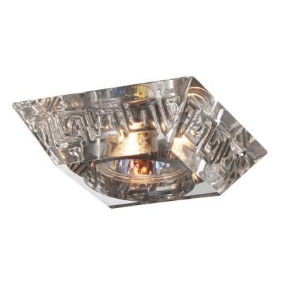 Novotech CLIFF 369548 Встраиваемый светильникКвадратные<br>Встраиваемые светильники – популярное осветительное оборудование, которое можно использовать в качестве основного источника или в дополнение к люстре. Они позволяют создать нужную атмосферу атмосферу и привнести в интерьер уют и комфорт.   Интернет-магазин «Светодом» предлагает стильный встраиваемый светильник Novotech 369548. Данная модель достаточно универсальна, поэтому подойдет практически под любой интерьер. Перед покупкой не забудьте ознакомиться с техническими параметрами, чтобы узнать тип цоколя, площадь освещения и другие важные характеристики.   Приобрести встраиваемый светильник Novotech 369548 в нашем онлайн-магазине Вы можете либо с помощью «Корзины», либо по контактным номерам. Мы развозим заказы по Москве, Екатеринбургу и остальным российским городам.<br><br>S освещ. до, м2: 3<br>Тип лампы: галогенная<br>Тип цоколя: GU5.3 (MR16)<br>Количество ламп: 1<br>MAX мощность ламп, Вт: 50<br>Диаметр, мм мм: 110<br>Диаметр врезного отверстия, мм: 60<br>Высота, мм: 78<br>Цвет арматуры: серебристый