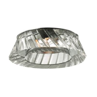 Novotech STORM 369549 Встраиваемый светильникКруглые<br>Декоративный встраиваемый неповоротный светильник модели Novotech 369549 из серии STORM отличается следующим качеством: Основание светильника – алюминиевое литьё. Это сплав, основными  достоинствами которого являются — устойчивость к практически всем видам негативного воздействия окружающей среды, коррозии, небольшой вес, по сравнению с другими видами металла и   экологическая безопасность материала. Декоративные бусины сделаны из хрусталя. Он обладает высоким показателем плотности, прозрачности и блеска. Благодаря содержанию свинца (не менее 30%) и определённому подбору углов, образуемых гранями, изделия из хрусталя отличаются необыкновенно яркой, многоцветной игрой света, чарующей магией красоты, совершенства и роскоши.<br><br>S освещ. до, м2: 3<br>Тип лампы: галогенная<br>Тип цоколя: GU5.3 (MR16)<br>Количество ламп: 1<br>MAX мощность ламп, Вт: 50<br>Диаметр, мм мм: 110<br>Диаметр врезного отверстия, мм: 60<br>Высота, мм: 50<br>Цвет арматуры: серебристый