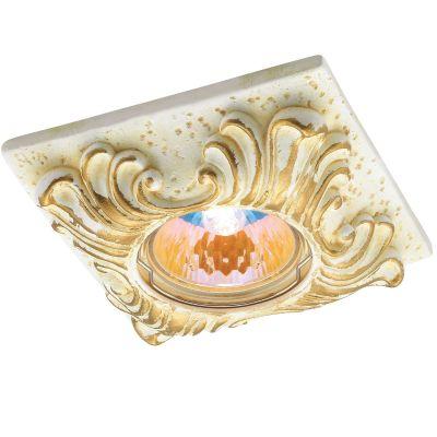Novotech SANDSTONE 369568 Встраиваемый светильникГипсовые<br>Декоративный встраиваемый светильник модели Novotech 369568 из серии SANDSTONE отличается следующим качеством: Светильник произведён из натурального камня песчаника. Его главные преимущества -  долговечность, уникальные экологические и бактерицидные качества, чистота цвета, однородность структуры, малое влагопоглощение. Сложность в обработке  компенсируется красотой и долговечностью изделия. Песчаник используется в течение многих веков и сегодня находится на пике популярности. Светильник, созданный из песчаника, позволит внести в  интерьер нотку роскоши и неповторимый дух вечности. Использование натурального камня в изготовлении светильника создаст особое настроение в Вашем доме.<br><br>S освещ. до, м2: 2<br>Тип лампы: галогенная<br>Тип цоколя: GU5.3 (MR16)<br>MAX мощность ламп, Вт: 50<br>Диаметр, мм мм: 100<br>Диаметр врезного отверстия, мм: 65<br>Расстояние от стены, мм: 25<br>Высота, мм: 40<br>Оттенок (цвет): золото<br>Цвет арматуры: желтый