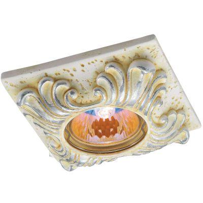 Novotech SANDSTONE 369569 Встраиваемый светильникГипсовые<br>Встраиваемые светильники – популярное осветительное оборудование, которое можно использовать в качестве основного источника или в дополнение к люстре. Они позволяют создать нужную атмосферу атмосферу и привнести в интерьер уют и комфорт.   Интернет-магазин «Светодом» предлагает стильный встраиваемый светильник Novotech 369569. Данная модель достаточно универсальна, поэтому подойдет практически под любой интерьер. Перед покупкой не забудьте ознакомиться с техническими параметрами, чтобы узнать тип цоколя, площадь освещения и другие важные характеристики.   Приобрести встраиваемый светильник Novotech 369569 в нашем онлайн-магазине Вы можете либо с помощью «Корзины», либо по контактным номерам. Мы развозим заказы по Москве, Екатеринбургу и остальным российским городам.<br><br>S освещ. до, м2: 2<br>Тип лампы: галогенная<br>Тип цоколя: GU5.3 (MR16)<br>Цвет арматуры: желтый<br>Диаметр, мм мм: 100<br>Диаметр врезного отверстия, мм: 65<br>Расстояние от стены, мм: 25<br>Высота, мм: 40<br>Оттенок (цвет): серебристный<br>MAX мощность ламп, Вт: 50