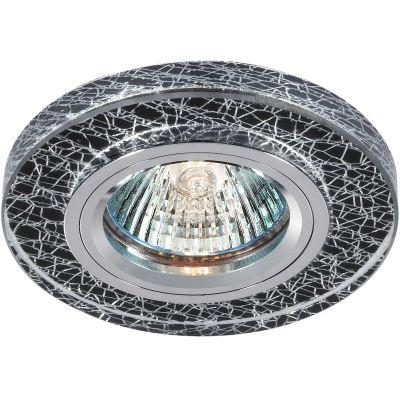 Novotech FANCY 369591 Встраиваемый светильникКруглые<br>Декоративный встраиваемый светильник модели Novotech 369591 из серии FANCY отличается следующим качеством: Основание светильника сделано из алюминия. Это лёгкий металл, основными  достоинствами которого являются — устойчивость к практически всем видам негативного воздействия окружающей среды, коррозии, небольшой вес, по сравнению с другими видами металла и   экологическая безопасность материала. Декоративный плафон произведен из хрусталя. Он обладает высоким показателем плотности, прозрачности и блеска. Благодаря содержанию свинца (не менее 30%) и определённому подбору углов, образуемых гранями, изделия из хрусталя отличаются необыкновенно яркой, многоцветной игрой света, чарующей магией красоты, совершенства и роскоши.<br><br>S освещ. до, м2: 2<br>Тип лампы: галогенная<br>Тип цоколя: GU5.3 (MR16)<br>MAX мощность ламп, Вт: 50<br>Диаметр, мм мм: 90<br>Диаметр врезного отверстия, мм: 68<br>Расстояние от стены, мм: 10<br>Высота, мм: 20<br>Цвет арматуры: серебристый