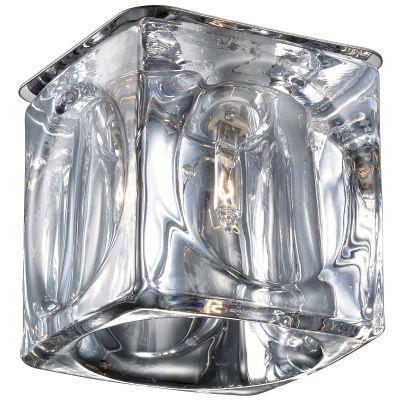 Novotech VETRO 369593 Встраиваемый светильникКвадратные встраиваемые светильники<br>Декоративный встраиваемый светильник модели Novotech 369593 из серии VETRO отличается следующим качеством: Основание светильника сделано из нержавеющей стали. Её главным преимуществом является  большой период эксплуатации.  Сталь по праву можно считать вечным материалом.  Так  же преимуществами являются устойчивость к химическим, атмосферным и механическим воздействиям и эстетичный внешний вид. Благодаря зеркальной полировке,  обеспечивается высокая стойкость металла к коррозии. Декоративный  плафон произведен из стекла. Стекло экологично,  не тускнеет и не меняет своего оттенка со временем, не покрывается некрасивым налетом и легко выдерживает перепады температур.<br><br>S освещ. до, м2: 2<br>Тип лампы: галогенная<br>Тип цоколя: G9<br>Цвет арматуры: серебристый<br>Диаметр, мм мм: 70<br>Диаметр врезного отверстия, мм: 60<br>Расстояние от стены, мм: 75<br>Высота, мм: 100<br>MAX мощность ламп, Вт: 40