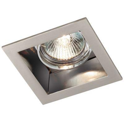 Novotech BELL 369638 Точечный встраиваемый светильникКвадратные<br>Встраиваемый поворотный светильник модели Novotech 369638 из серии BELL отличается следующим качеством: Светильник произведен из алюминия. Это лёгкий металл, основными  достоинствами которого являются — устойчивость к практически всем видам негативного воздействия окружающей среды, коррозии, небольшой вес, по сравнению с другими видами металла и   экологическая безопасность материала.<br><br>S освещ. до, м2: 2<br>Тип лампы: галогенная<br>Тип цоколя: GU5.3 (MR16)<br>MAX мощность ламп, Вт: 50<br>Диаметр, мм мм: 92<br>Диаметр врезного отверстия, мм: 83<br>Расстояние от стены, мм: 5<br>Высота, мм: 55<br>Цвет арматуры: серебристый
