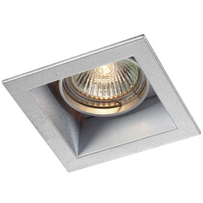 Novotech BELL 369639 Точечный встраиваемый светильникКвадратные<br>Встраиваемый поворотный светильник модели Novotech 369639 из серии BELL отличается следующим качеством: Светильник сделан из алюминиевого литья. Это сплав, основными  достоинствами которого являются — устойчивость к практически всем видам негативного воздействия окружающей среды, коррозии, небольшой вес, по сравнению с другими видами металла и   экологическая безопасность материала.<br><br>S освещ. до, м2: 2<br>Тип лампы: галогенная<br>Тип цоколя: GU5.3 (MR16)<br>Цвет арматуры: серебристый<br>Диаметр, мм мм: 92<br>Диаметр врезного отверстия, мм: 83<br>Расстояние от стены, мм: 5<br>Высота, мм: 55<br>MAX мощность ламп, Вт: 50