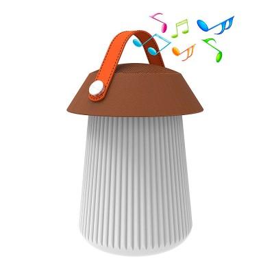 Светильник Mantra 3697 LIGHT SPEAKERСовременные настольные лампы модерн<br>Переносной настольный светильник с пультом (воспроизводит музыку Bluetooth)<br><br>Тип лампы: LED<br>Цвет арматуры: серебристый<br>Диаметр, мм мм: 195<br>Высота, мм: 306<br>MAX мощность ламп, Вт: 3