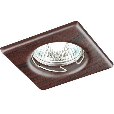 Купить Novotech WOOD 369718 Точечный встраиваемый светильник, Китай
