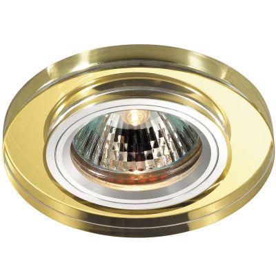 Novotech MIRROR 369758 Встраиваемый светильникКруглые<br>Встраиваемые светильники – популярное осветительное оборудование, которое можно использовать в качестве основного источника или в дополнение к люстре. Они позволяют создать нужную атмосферу атмосферу и привнести в интерьер уют и комфорт.   Интернет-магазин «Светодом» предлагает стильный встраиваемый светильник Novotech 369758. Данная модель достаточно универсальна, поэтому подойдет практически под любой интерьер. Перед покупкой не забудьте ознакомиться с техническими параметрами, чтобы узнать тип цоколя, площадь освещения и другие важные характеристики.   Приобрести встраиваемый светильник Novotech 369758 в нашем онлайн-магазине Вы можете либо с помощью «Корзины», либо по контактным номерам. Мы развозим заказы по Москве, Екатеринбургу и остальным российским городам.<br><br>S освещ. до, м2: 2<br>Тип лампы: галогенная<br>Тип цоколя: GU5.3 (MR16)<br>MAX мощность ламп, Вт: 50<br>Диаметр, мм мм: 85<br>Диаметр врезного отверстия, мм: 68<br>Расстояние от стены, мм: 10<br>Высота, мм: 25<br>Оттенок (цвет): желтый<br>Цвет арматуры: серебристый