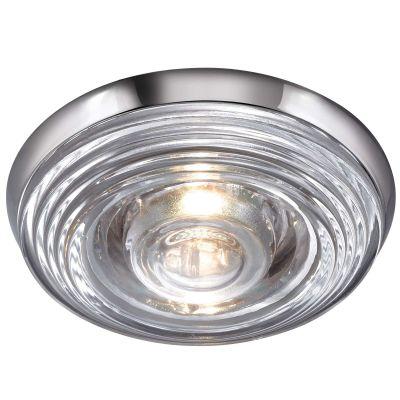 Novotech AQUA 369812 Встраиваемый светильникКруглые<br>Встраиваемый светильник модели Novotech 369812 из серии AQUA отличается следующим качеством: Влагозащищённый светильник. Корпус светильника – алюминиевое литьё. Это сплав, основными  достоинствами которого являются — устойчивость к практически всем видам негативного воздействия окружающей среды, коррозии, небольшой вес, по сравнению с другими видами металла и   экологическая безопасность материала.  Декоративный  плафон произведен из стекла. Стекло экологично,  не тускнеет и не меняет своего оттенка со временем, не покрывается некрасивым налетом и легко выдерживает перепады температур.<br><br>S освещ. до, м2: 2<br>Тип лампы: галогенная<br>Тип цоколя: GU5.3 (MR16)<br>MAX мощность ламп, Вт: 50<br>Диаметр, мм мм: 109<br>Диаметр врезного отверстия, мм: 88<br>Расстояние от стены, мм: 50<br>Высота, мм: 80<br>Цвет арматуры: серебристый
