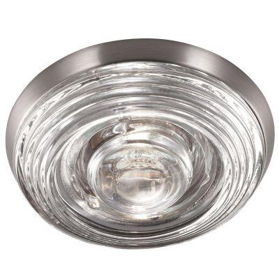Novotech AQUA 369813 Встраиваемый светильникКруглые<br>Встраиваемый светильник модели Novotech 369813 из серии AQUA отличается следующим качеством: Влагозащищённый светильник. Корпус светильника – алюминиевое литьё. Это сплав, основными  достоинствами которого являются — устойчивость к практически всем видам негативного воздействия окружающей среды, коррозии, небольшой вес, по сравнению с другими видами металла и   экологическая безопасность материала.  Декоративный  плафон произведен из стекла. Стекло экологично,  не тускнеет и не меняет своего оттенка со временем, не покрывается некрасивым налетом и легко выдерживает перепады температур.<br><br>S освещ. до, м2: 2<br>Тип лампы: галогенная<br>Тип цоколя: GU5.3 (MR16)<br>MAX мощность ламп, Вт: 50<br>Диаметр, мм мм: 109<br>Диаметр врезного отверстия, мм: 88<br>Расстояние от стены, мм: 50<br>Высота, мм: 80<br>Цвет арматуры: серебристый