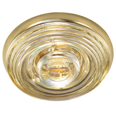 Novotech AQUA 369814 Встраиваемый светильникКруглые<br>Встраиваемый светильник модели Novotech 369814 из серии AQUA отличается следующим качеством: Влагозащищённый светильник. Корпус светильника – алюминиевое литьё. Это сплав, основными  достоинствами которого являются — устойчивость к практически всем видам негативного воздействия окружающей среды, коррозии, небольшой вес, по сравнению с другими видами металла и   экологическая безопасность материала.  Декоративный  плафон произведен из стекла. Стекло экологично,  не тускнеет и не меняет своего оттенка со временем, не покрывается некрасивым налетом и легко выдерживает перепады температур.<br><br>S освещ. до, м2: 2<br>Тип лампы: галогенная<br>Тип цоколя: GU5.3 (MR16)<br>MAX мощность ламп, Вт: 50<br>Диаметр, мм мм: 109<br>Диаметр врезного отверстия, мм: 88<br>Расстояние от стены, мм: 50<br>Высота, мм: 80<br>Цвет арматуры: Золотой
