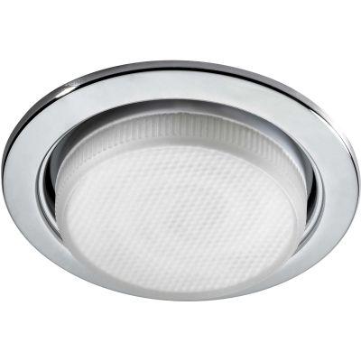 Novotech TABLET 369828 Встраиваемый светильникЭнергосберегающие<br>Встраиваемые светильники – популярное осветительное оборудование, которое можно использовать в качестве основного источника или в дополнение к люстре. Они позволяют создать нужную атмосферу атмосферу и привнести в интерьер уют и комфорт.   Интернет-магазин «Светодом» предлагает стильный встраиваемый светильник Novotech 369828. Данная модель достаточно универсальна, поэтому подойдет практически под любой интерьер. Перед покупкой не забудьте ознакомиться с техническими параметрами, чтобы узнать тип цоколя, площадь освещения и другие важные характеристики.   Приобрести встраиваемый светильник Novotech 369828 в нашем онлайн-магазине Вы можете либо с помощью «Корзины», либо по контактным номерам. Мы развозим заказы по Москве, Екатеринбургу и остальным российским городам.<br><br>S освещ. до, м2: 2<br>Тип лампы: люминесцентная<br>Тип цоколя: GX53<br>MAX мощность ламп, Вт: 11<br>Диаметр, мм мм: 10.июл<br>Диаметр врезного отверстия, мм: 95<br>Цвет арматуры: серебристый