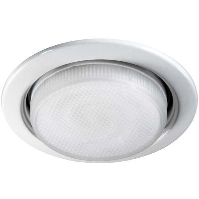 Novotech TABLET 369829 Встраиваемый светильникЭнергосберегающие<br>Встраиваемые светильники – популярное осветительное оборудование, которое можно использовать в качестве основного источника или в дополнение к люстре. Они позволяют создать нужную атмосферу атмосферу и привнести в интерьер уют и комфорт.   Интернет-магазин «Светодом» предлагает стильный встраиваемый светильник Novotech 369829. Данная модель достаточно универсальна, поэтому подойдет практически под любой интерьер. Перед покупкой не забудьте ознакомиться с техническими параметрами, чтобы узнать тип цоколя, площадь освещения и другие важные характеристики.   Приобрести встраиваемый светильник Novotech 369829 в нашем онлайн-магазине Вы можете либо с помощью «Корзины», либо по контактным номерам. Мы развозим заказы по Москве, Екатеринбургу и остальным российским городам.<br><br>S освещ. до, м2: 2<br>Тип лампы: люминесцентная<br>Тип цоколя: GX53<br>MAX мощность ламп, Вт: 11<br>Диаметр, мм мм: 10.июл<br>Диаметр врезного отверстия, мм: 95<br>Цвет арматуры: белый