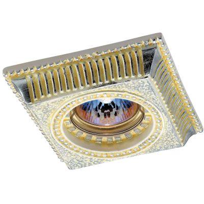 Novotech SANDSTONE 369832 Точечный встраиваемый светильникКвадратные<br>Встраиваемые светильники – популярное осветительное оборудование, которое можно использовать в качестве основного источника или в дополнение к люстре. Они позволяют создать нужную атмосферу атмосферу и привнести в интерьер уют и комфорт. <br> Интернет-магазин «Светодом» предлагает стильный встраиваемый светильник Novotech 369832. Данная модель достаточно универсальна, поэтому подойдет практически под любой интерьер. Перед покупкой не забудьте ознакомиться с техническими параметрами, чтобы узнать тип цоколя, площадь освещения и другие важные характеристики. <br> Приобрести встраиваемый светильник Novotech 369832 в нашем онлайн-магазине Вы можете либо с помощью «Корзины», либо по контактным номерам. Мы развозим заказы по Москве, Екатеринбургу и остальным российским городам.<br><br>S освещ. до, м2: 2<br>Тип лампы: галогенная<br>Тип цоколя: GU5.3 (MR16)<br>MAX мощность ламп, Вт: 50<br>Диаметр, мм мм: 110<br>Диаметр врезного отверстия, мм: 65<br>Расстояние от стены, мм: 25<br>Высота, мм: 40<br>Оттенок (цвет): серебристный<br>Цвет арматуры: желтый