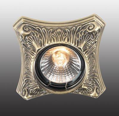 Novotech VINTAGE 369849 Точечный встраиваемый светильникДекоративные<br>Встраиваемые светильники – популярное осветительное оборудование, которое можно использовать в качестве основного источника или в дополнение к люстре. Они позволяют создать нужную атмосферу атмосферу и привнести в интерьер уют и комфорт. <br> Интернет-магазин «Светодом» предлагает стильный встраиваемый светильник Novotech 369849. Данная модель достаточно универсальна, поэтому подойдет практически под любой интерьер. Перед покупкой не забудьте ознакомиться с техническими параметрами, чтобы узнать тип цоколя, площадь освещения и другие важные характеристики. <br> Приобрести встраиваемый светильник Novotech 369849 в нашем онлайн-магазине Вы можете либо с помощью «Корзины», либо по контактным номерам. Мы развозим заказы по Москве, Екатеринбургу и остальным российским городам.<br><br>Тип лампы: галогенная<br>Тип цоколя: GU5.3 (MR16)<br>Ширина, мм: 94<br>MAX мощность ламп, Вт: 50<br>Диаметр врезного отверстия, мм: 70<br>Длина, мм: 94