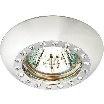 Novotech SHINE 369876 Точечный встраиваемый светильникКруглые<br>Встраиваемые светильники – популярное осветительное оборудование, которое можно использовать в качестве основного источника или в дополнение к люстре. Они позволяют создать нужную атмосферу атмосферу и привнести в интерьер уют и комфорт.   Интернет-магазин «Светодом» предлагает стильный встраиваемый светильник Novotech 369876. Данная модель достаточно универсальна, поэтому подойдет практически под любой интерьер. Перед покупкой не забудьте ознакомиться с техническими параметрами, чтобы узнать тип цоколя, площадь освещения и другие важные характеристики.   Приобрести встраиваемый светильник Novotech 369876 в нашем онлайн-магазине Вы можете либо с помощью «Корзины», либо по контактным номерам. Мы развозим заказы по Москве, Екатеринбургу и остальным российским городам.<br><br>S освещ. до, м2: 3<br>Тип лампы: галогенная<br>Тип цоколя: GU5.3 (MR16)<br>Количество ламп: 1<br>MAX мощность ламп, Вт: 50<br>Диаметр, мм мм: 90<br>Диаметр врезного отверстия, мм: 80<br>Высота, мм: 50