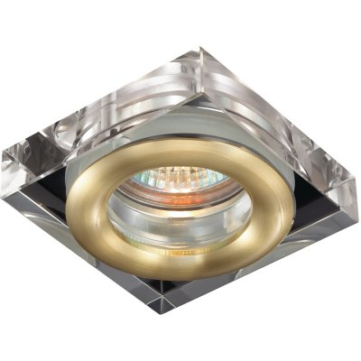 Novotech AQUA 369882 Встраиваемый светильникКвадратные<br>Встраиваемый светильник модели Novotech 369882 из серии AQUA отличается следующим качеством: Влагозащищённый светильник. Корпус светильника – алюминиевое литьё. Это сплав, основными  достоинствами которого являются — устойчивость к практически всем видам негативного воздействия окружающей среды, коррозии, небольшой вес, по сравнению с другими видами металла и   экологическая безопасность материала.  Декоративные плафон произведен из хрусталя. Он обладает высоким показателем плотности, прозрачности и блеска. Благодаря содержанию свинца (не менее 30%) и определённому подбору углов, образуемых гранями, изделия из хрусталя отличаются необыкновенно яркой, многоцветной игрой света, чарующей магией красоты, совершенства и роскоши.<br><br>S освещ. до, м2: 3<br>Тип лампы: галогенная<br>Тип цоколя: GU5.3 (MR16)<br>Количество ламп: 1<br>Ширина, мм: 80<br>MAX мощность ламп, Вт: 50<br>Диаметр врезного отверстия, мм: 60<br>Длина, мм: 80