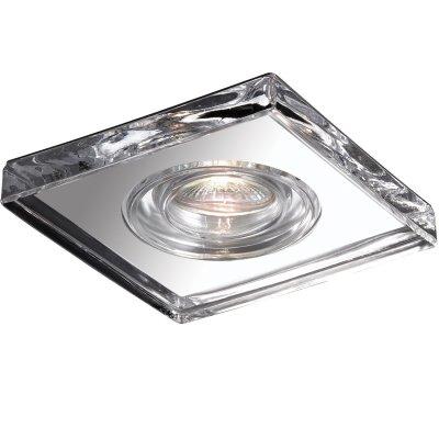 Novotech AQUA 369884 Встраиваемый светильникВ ванную<br>Встраиваемый светильник модели Novotech 369884 из серии AQUA отличается следующим качеством: Влагозащищённый светильник. Корпус светильника – алюминиевое литьё. Это сплав, основными  достоинствами которого являются — устойчивость к практически всем видам негативного воздействия окружающей среды, коррозии, небольшой вес, по сравнению с другими видами металла и   экологическая безопасность материала.  Декоративный  плафон произведен из стекла. Стекло экологично,  не тускнеет и не меняет своего оттенка со временем, не покрывается некрасивым налетом и легко выдерживает перепады температур.<br><br>S освещ. до, м2: 3<br>Тип лампы: галогенная<br>Тип цоколя: GU5.3 (MR16)<br>Количество ламп: 1<br>Ширина, мм: 110<br>MAX мощность ламп, Вт: 50<br>Диаметр врезного отверстия, мм: 60<br>Длина, мм: 110