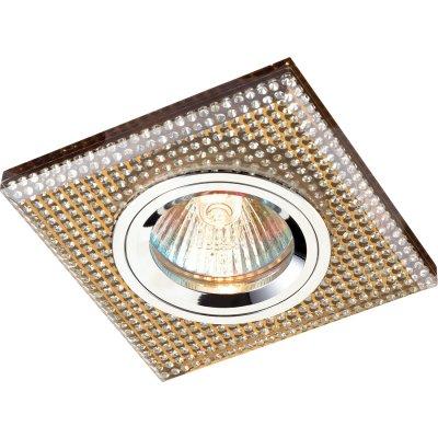 Novotech SHIKKU 369902 Точечный встраиваемый светильникКвадратные<br>Встраиваемые светильники – популярное осветительное оборудование, которое можно использовать в качестве основного источника или в дополнение к люстре. Они позволяют создать нужную атмосферу атмосферу и привнести в интерьер уют и комфорт. <br> Интернет-магазин «Светодом» предлагает стильный встраиваемый светильник Novotech 369902. Данная модель достаточно универсальна, поэтому подойдет практически под любой интерьер. Перед покупкой не забудьте ознакомиться с техническими параметрами, чтобы узнать тип цоколя, площадь освещения и другие важные характеристики. <br> Приобрести встраиваемый светильник Novotech 369902 в нашем онлайн-магазине Вы можете либо с помощью «Корзины», либо по контактным номерам. Мы развозим заказы по Москве, Екатеринбургу и остальным российским городам.<br><br>Тип лампы: галогенная<br>Тип цоколя: GU5.3 (MR16)<br>Ширина, мм: 90<br>MAX мощность ламп, Вт: 50<br>Диаметр врезного отверстия, мм: 60<br>Длина, мм: 90