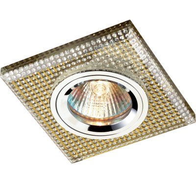 Novotech SHIKKU 369903 Точечный встраиваемый светильникКвадратные<br>Встраиваемые светильники – популярное осветительное оборудование, которое можно использовать в качестве основного источника или в дополнение к люстре. Они позволяют создать нужную атмосферу атмосферу и привнести в интерьер уют и комфорт. <br> Интернет-магазин «Светодом» предлагает стильный встраиваемый светильник Novotech 369903. Данная модель достаточно универсальна, поэтому подойдет практически под любой интерьер. Перед покупкой не забудьте ознакомиться с техническими параметрами, чтобы узнать тип цоколя, площадь освещения и другие важные характеристики. <br> Приобрести встраиваемый светильник Novotech 369903 в нашем онлайн-магазине Вы можете либо с помощью «Корзины», либо по контактным номерам. Мы развозим заказы по Москве, Екатеринбургу и остальным российским городам.<br><br>Тип лампы: галогенная<br>Тип цоколя: GU5.3 (MR16)<br>Ширина, мм: 90<br>Диаметр врезного отверстия, мм: 60<br>Длина, мм: 90<br>MAX мощность ламп, Вт: 50