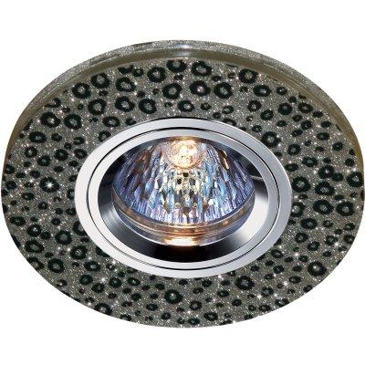Novotech SHIKKU 369905 Точечный встраиваемый светильникКруглые<br>Декоративный встраиваемый светильник модели Novotech 369905 из серии SHIKKU отличается следующим качеством: Светильника сделан из алюминия. Это лёгкий металл, основными  достоинствами которого являются — устойчивость к практически всем видам негативного воздействия окружающей среды, коррозии, небольшой вес, по сравнению с другими видами металла и   экологическая безопасность материала.  Декоративные отделка произведена из хрусталя. Он обладает высоким показателем плотности, прозрачности и блеска. Благодаря содержанию свинца (не менее 30%). Огранка хрусталя, подобно огранке драгоценных камней, позволяет в полной мере проявить свойства, обусловленные большим показателем преломления и дисперсией.<br><br>Тип лампы: галогенная<br>Тип цоколя: GU5.3 (MR16)<br>Диаметр, мм мм: 100<br>Диаметр врезного отверстия, мм: 60<br>MAX мощность ламп, Вт: 50