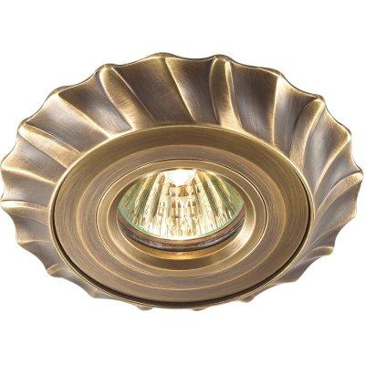 Novotech VINTAGE 369942 Встраиваемый светильникКруглые<br>Встраиваемые светильники – популярное осветительное оборудование, которое можно использовать в качестве основного источника или в дополнение к люстре. Они позволяют создать нужную атмосферу атмосферу и привнести в интерьер уют и комфорт. <br> Интернет-магазин «Светодом» предлагает стильный встраиваемый светильник Novotech 369942. Данная модель достаточно универсальна, поэтому подойдет практически под любой интерьер. Перед покупкой не забудьте ознакомиться с техническими параметрами, чтобы узнать тип цоколя, площадь освещения и другие важные характеристики. <br> Приобрести встраиваемый светильник Novotech 369942 в нашем онлайн-магазине Вы можете либо с помощью «Корзины», либо по контактным номерам. Мы развозим заказы по Москве, Екатеринбургу и остальным российским городам.<br><br>Тип лампы: галогенная<br>Тип цоколя: GU5.3 (MR16)<br>MAX мощность ламп, Вт: 50<br>Диаметр, мм мм: 120<br>Диаметр врезного отверстия, мм: 90