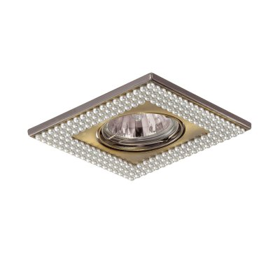 Novotech PEARL 370146 Встраиваемый светильникКвадратные<br>Встраиваемые светильники – популярное осветительное оборудование, которое можно использовать в качестве основного источника или в дополнение к люстре. Они позволяют создать нужную атмосферу атмосферу и привнести в интерьер уют и комфорт.   Интернет-магазин «Светодом» предлагает стильный встраиваемый светильник Novotech 370146. Данная модель достаточно универсальна, поэтому подойдет практически под любой интерьер. Перед покупкой не забудьте ознакомиться с техническими параметрами, чтобы узнать тип цоколя, площадь освещения и другие важные характеристики.   Приобрести встраиваемый светильник Novotech 370146 в нашем онлайн-магазине Вы можете либо с помощью «Корзины», либо по контактным номерам. Мы развозим заказы по Москве, Екатеринбургу и остальным российским городам.<br><br>S освещ. до, м2: 3<br>Тип лампы: галогенная/LED<br>Тип цоколя: GU5.3 (MR16)<br>Количество ламп: 1<br>Ширина, мм: 102<br>MAX мощность ламп, Вт: 50<br>Диаметр врезного отверстия, мм: 75<br>Длина, мм: 102<br>Высота, мм: 10<br>Цвет арматуры: бронзовый