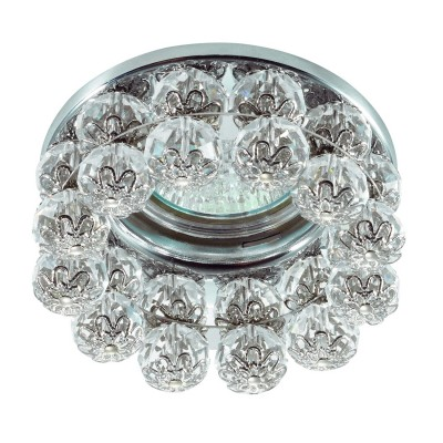Novotech MALINY 370227 Светильник встраиваемыйХрустальные<br>Встраиваемый декоративный светильник модели Novotech 370227 из серии MALINY отличается следующим качеством: Корпус светильника сделан из металла. Это популярный и востребованный материал благодаря ряду качеств. К ним относится: повышенная прочность, износостойкость и долговечность. Любому интерьеру он придаст солидности и завершенности, поможет расставить акценты. Декоративные украшения сделаны из хрусталя. Огранка хрусталя, подобно огранке драгоценных камней, позволяет в полной мере проявить свойства, обусловленные большим показателем преломления и дисперсией.<br><br>Тип лампы: галогенная/LED<br>Тип цоколя: GX5.3<br>MAX мощность ламп, Вт: 50<br>Диаметр, мм мм: 87<br>Диаметр врезного отверстия, мм: 60<br>Высота, мм: 63<br>Цвет арматуры: серебристый