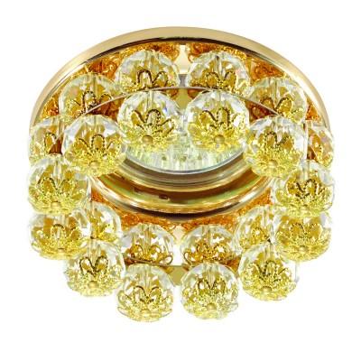 Novotech MALINY 370228 Светильник встраиваемыйХрустальные<br>Встраиваемый декоративный светильник модели Novotech 370228 из серии MALINY отличается следующим качеством: Корпус светильника сделан из металла. Это популярный и востребованный материал благодаря ряду качеств. К ним относится: повышенная прочность, износостойкость и долговечность. Любому интерьеру он придаст солидности и завершенности, поможет расставить акценты. Декоративные украшения сделаны из хрусталя. Огранка хрусталя, подобно огранке драгоценных камней, позволяет в полной мере проявить свойства, обусловленные большим показателем преломления и дисперсией.<br><br>Тип лампы: галогенная/LED<br>Тип цоколя: GX5.3<br>MAX мощность ламп, Вт: 50<br>Диаметр, мм мм: 87<br>Диаметр врезного отверстия, мм: 60<br>Высота, мм: 63<br>Цвет арматуры: Золотой