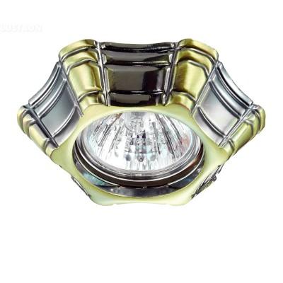 Novotech FORZA 370252 Светильник встраиваемыйДекоративные<br>Стандартный встраиваемый неповоротный светильник модели Novotech 370252 из серии FORZA отличается следующим качеством: Светильник произведен  из сплава цинка. Благодаря сравнительно высоким механическим и литейным качествам, изделия, выполненные из сплава цинка, отличаются высокой точностью деталей декора со сложной конфигурацией. Так же он обладает антикоррозийными свойствами.<br><br>Тип лампы: галогенная/LED<br>Тип цоколя: gu5.3<br>Количество ламп: 1<br>MAX мощность ламп, Вт: 50<br>Диаметр, мм мм: 100<br>Диаметр врезного отверстия, мм: 60<br>Высота, мм: 40<br>Цвет арматуры: бронзовый
