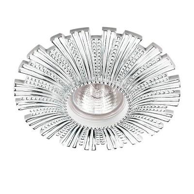 Novotech PATTERN 370324 Встраиваемый декоративный светильникКруглые<br>Встраиваемые светильники – популярное осветительное оборудование, которое можно использовать в качестве основного источника или в дополнение к люстре. Они позволяют создать нужную атмосферу атмосферу и привнести в интерьер уют и комфорт.   Интернет-магазин «Светодом» предлагает стильный встраиваемый светильник Novotech 370324. Данная модель достаточно универсальна, поэтому подойдет практически под любой интерьер. Перед покупкой не забудьте ознакомиться с техническими параметрами, чтобы узнать тип цоколя, площадь освещения и другие важные характеристики.   Приобрести встраиваемый светильник Novotech 370324 в нашем онлайн-магазине Вы можете либо с помощью «Корзины», либо по контактным номерам. Мы развозим заказы по Москве, Екатеринбургу и остальным российским городам.<br><br>Тип лампы: галогенная/LED<br>Тип цоколя: gu5.3<br>MAX мощность ламп, Вт: 50<br>Диаметр, мм мм: 140<br>Диаметр врезного отверстия, мм: 65