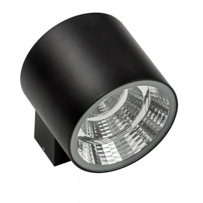 370674 Светильник PARO LED 20W 1590LM 40G ЧЕРНЫЙ 4000K IP65одиночные споты<br><br><br>Цветовая t, К: 4000<br>Тип лампы: LED - светодиодная<br>Тип цоколя: LED, встроенные светодиоды<br>Цвет арматуры: черный<br>Количество ламп: 1<br>Ширина, мм: 152<br>Расстояние от стены, мм: 120<br>Высота, мм: 90<br>Поверхность арматуры: матовая<br>Оттенок (цвет): черный<br>MAX мощность ламп, Вт: 20