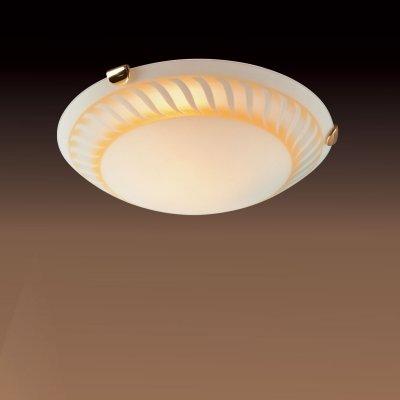 Светильник Сонекс 371 золото TurbinaКруглые<br>Настенно потолочный светильник Сонекс (Sonex) 371  подходит как для установки в вертикальном положении - на стены, так и для установки в горизонтальном - на потолок. Для установки настенно потолочных светильников на натяжной потолок необходимо использовать светодиодные лампы LED, которые экономнее ламп Ильича (накаливания) в 10 раз, выделяют мало тепла и не дадут расплавиться Вашему потолку.<br><br>S освещ. до, м2: 20<br>Тип лампы: накаливания / энергосбережения / LED-светодиодная<br>Тип цоколя: E27<br>Количество ламп: 3<br>MAX мощность ламп, Вт: 100<br>Диаметр, мм мм: 500<br>Цвет арматуры: золотой