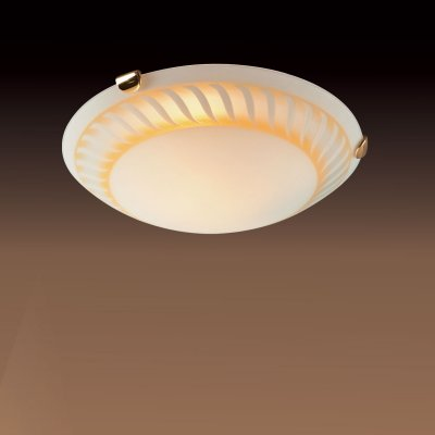 Светильник Сонекс 171 золото TurbinaКруглые<br>Настенно потолочный светильник Сонекс (Sonex) 171  подходит как для установки в вертикальном положении - на стены, так и для установки в горизонтальном - на потолок. Для установки настенно потолочных светильников на натяжной потолок необходимо использовать светодиодные лампы LED, которые экономнее ламп Ильича (накаливания) в 10 раз, выделяют мало тепла и не дадут расплавиться Вашему потолку.<br><br>S освещ. до, м2: 6<br>Тип лампы: накаливания / энергосбережения / LED-светодиодная<br>Тип цоколя: E27<br>Количество ламп: 1<br>MAX мощность ламп, Вт: 100<br>Диаметр, мм мм: 300<br>Цвет арматуры: золотой