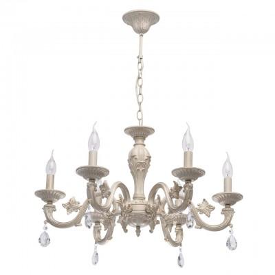 371013606 Mw light СветильникПодвесные<br><br><br>Установка на натяжной потолок: Да<br>S освещ. до, м2: 12<br>Тип лампы: Накаливания / энергосбережения / светодиодная<br>Тип цоколя: E14<br>Количество ламп: 6<br>MAX мощность ламп, Вт: 40<br>Диаметр, мм мм: 650<br>Высота, мм: 730