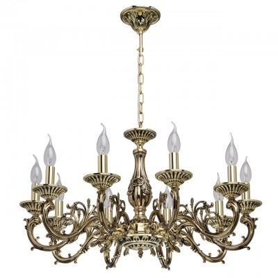 Люстра Mw-light 371014610люстры подвесные классические<br><br><br>S освещ. до, м2: 20<br>Тип лампы: накаливания / энергосбережения / LED-светодиодная<br>Тип цоколя: E14<br>Количество ламп: 10<br>Диаметр, мм мм: 720<br>Высота, мм: 920<br>MAX мощность ламп, Вт: 40