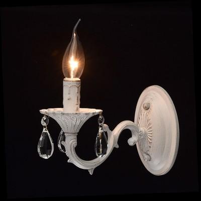 Mw light Аврора 371022501 Светильник браКлассические<br><br><br>Тип лампы: Накаливания / энергосбережения / светодиодная<br>Тип цоколя: E14<br>Количество ламп: 1<br>Ширина, мм: 110<br>MAX мощность ламп, Вт: 60<br>Длина, мм: 170<br>Высота, мм: 240