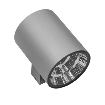 Светильник светодиодный уличный настенный Lightstar 371694 Paroуличные настенные светильники<br>Крепление: a51; Внешние габариты: D120 L 152 H150; Материал - основание/плафон: металл; Цвет-основание/плафон: серый; Лампа: LED 2*15W, Световой поток: 2350LM; Угол рассеивания: 40G; Встроенный транcформатор 4000К;